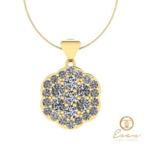 Pandant cu diamante ESP1