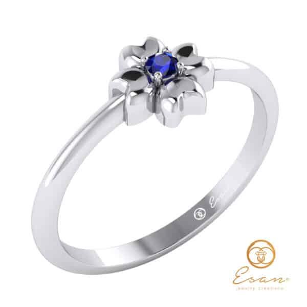 inel de logodna cu safir ES4