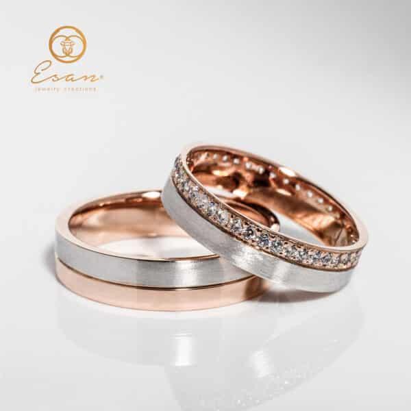 verighete din aur cu diamante