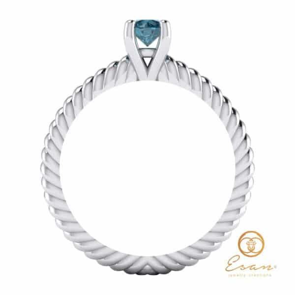 inel cu diamant ES132-A