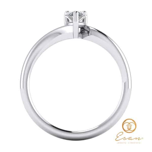 inel de logodna cu diamante ES125-A