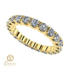 inel de logodna cu diamante eternity