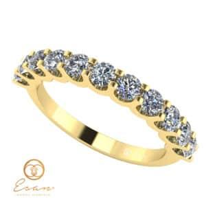 inel de logodna din aur cu diamante ES124-G