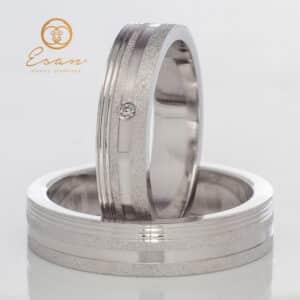 din aur alb cu diamante ESV94