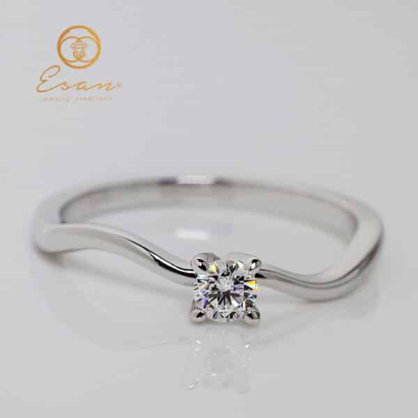 Inel de logodna solitaire ES11