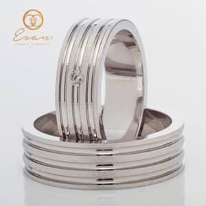 din aur cu diamant model nou ESV148