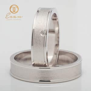 din aur cu diamant model nou ESV155