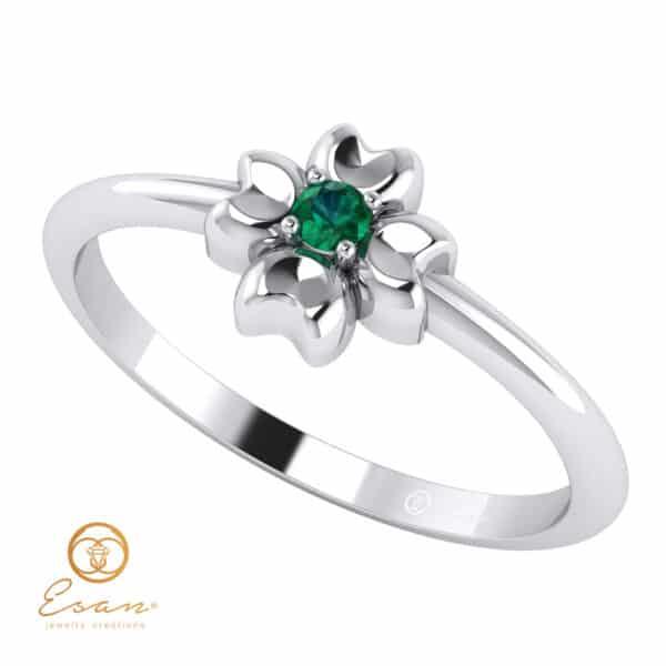 Inel-de-logodna-cu-smarald-natural-ES4