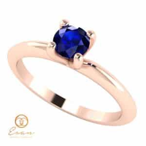Inel de logodna solitaire cu safir ES6