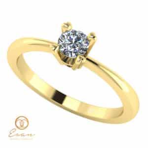 Inel de logodna cu diamant solitaire ES7