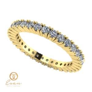Inel de logodna cu diamante ES60