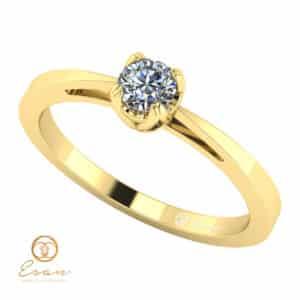 Inel de logodna cu diamant solitaire ES24