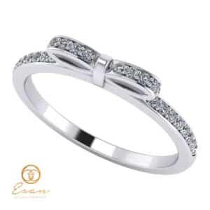 Inel de logodna din aur cu diamante naturale ES88