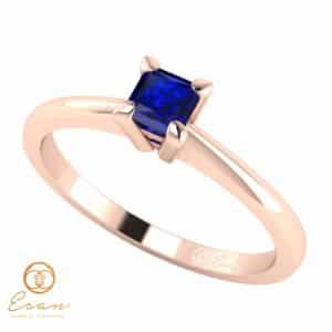 Inel de logodna cu safir ES18