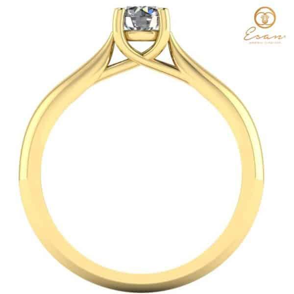 Inel din aur cu diamant