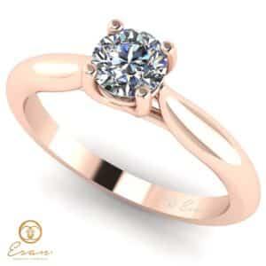 Inel din aur cu diamant es168
