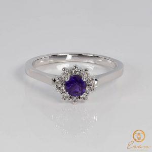 inel cu ametist si diamante4a1